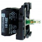 LAMPEKROP GUL LED 240V ZB5