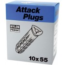 PLUGS ATTACK AP-10 10X55MM-50