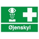 SKILT ØJENSKYL 30X21CM