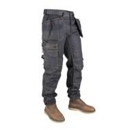 8a7f12eb Dunderdon denim raw sort håndværkerbuks, P15 - Shorts, knickers ...